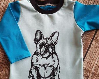 Long sleeved French Bulldog 68