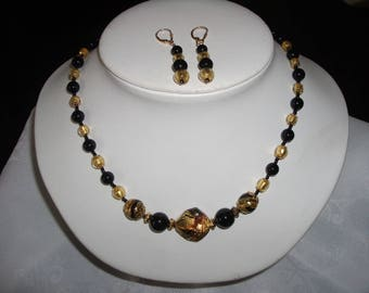 Necklace Bead MURANO by riviera-pearl