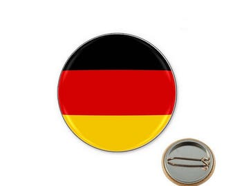 Germany flag - 25mm button badge