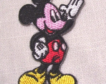 Patch fusible Patch - MICKEY mouse * 4 x 6.5 cm * Applique iron-on