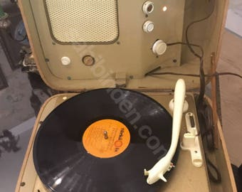 1956 Record Player / Pick Up - Clean As New