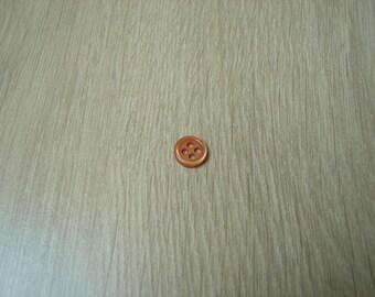 Small Orange round shape button