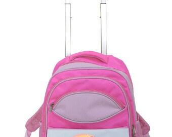 "Kids backpack with custom ""Unicorn"" wagon"