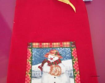bag for treats or Christmas gifts