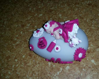 """pilot baby petticoat with logo """"dior"""" or """"lv"""" no Bunny to be personalized"""