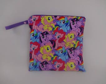 My Little Pony wet bag for diapers or pool