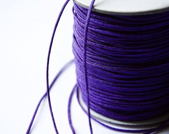 Wire Nylon braided Purple 1.5 mm x 1 meter