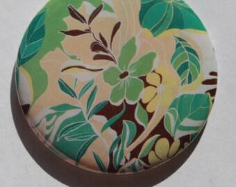 Summer flower pattern Pocket mirrors