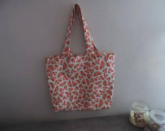 Tote bag summer colours