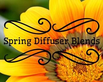 Spring Diffuser Blends