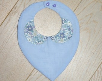 liberty Peter Pan collar bib