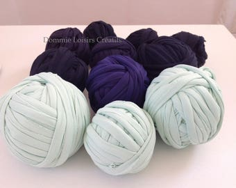 Set A 06 Trapilho 700g to 1000g multicolor yarn