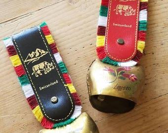 Vintage Swiss Cow Bells
