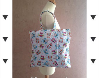 "Bag child ""owls"" pattern"
