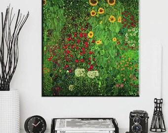 """Gustav Klimt """"Flowers"""""""