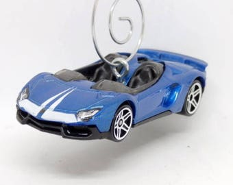 lamborghini aventador j hot wheels car christmas ornament ornament hook included bettygiftstore e