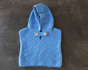Blue Hoodie 3 months