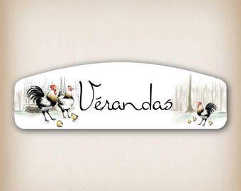 Sticker style verandas 046 arch door sign