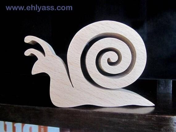 Sculpture en bois escargot 2 en chantournage - Modele sculpture sur bois gratuit ...