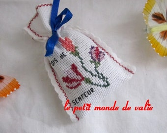 Lavender bag pattern sweet pea