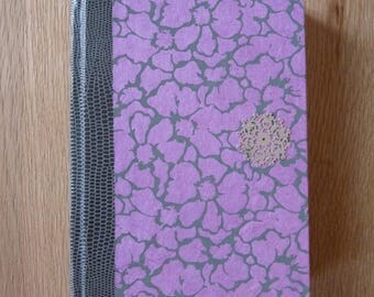 Agenda floral pink and gray