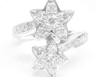 14K White Gold 1.02 CTW Diamond Ring!!!
