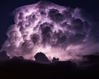 Lightning photo storm photography lightning photography lightning wall art photography lightning storm photo storm cloud photo matted photo