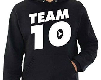 Jake Paul  Hoodie// Team Ten// It's Everyday Bro//