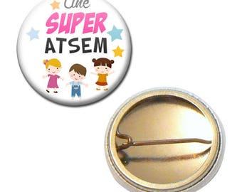 Badge 25 mm - a great pre-school kindergarten kids gift