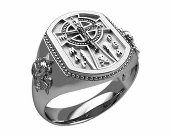 Jesus Cryst Сrucifixion Celtic Style Cross Sterling Silver 925 SKU30292