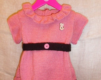 "Dress ""french Cancan"" 6/9 months"