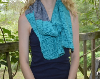 Crochet shawl wrap stole