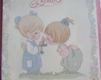 cross stitch patterns - PRECIOUS MOMENTS book designs by Gloria & Pat