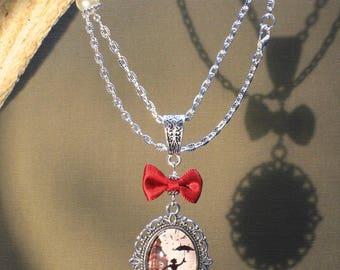 """Necklace """"Mary Poppins"""" retro, fantasy, London"""