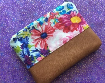 Small Floral Coin Purse