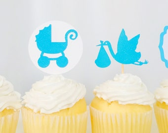 Baby Shower Cupcake Topper