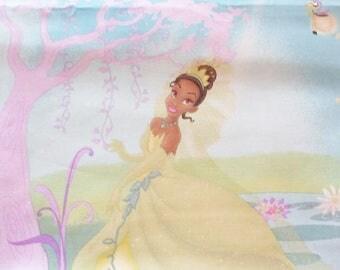 Fabric kids fabric Princess and frog