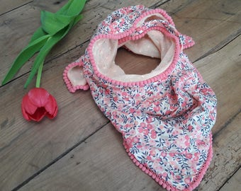 Bandana scarf / kids Liberty and Poka dots