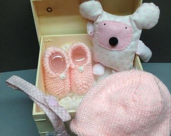 Baby girl 4 box handmade creations