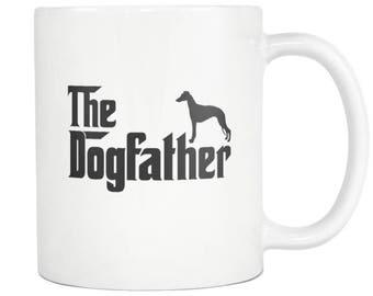 Whippet Mug , Whippet Gift, Dog Father Tea Coffee Mug