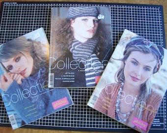 Set of 3 catalogs - knitting - women's clothing