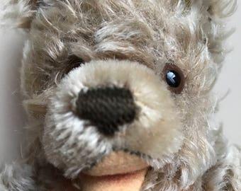 "Rare Vintage Steiff ""Zottie""Bear Mohair 9 Inch/ Antique Steiff Bear"
