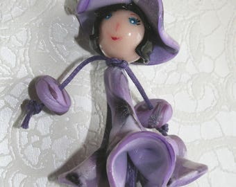 Chick - dress flower & round Hat - various colors
