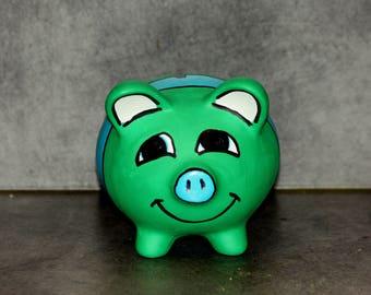 Kids ceramic pig piggy bank