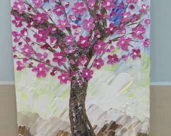 Palette Knife Oil Painting