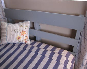 pallet wood twin headboard with custom color