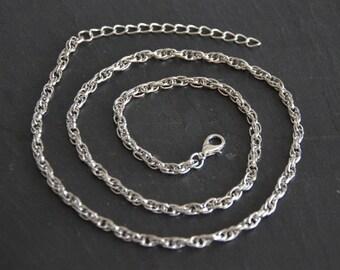 Necklace mesh convict Double length 51cm
