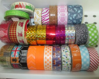 set of rolls of masking tape various new designs