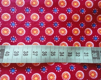 printed cotton flannel