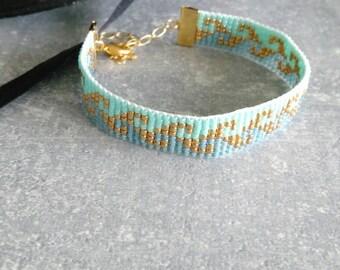Miyuki 11/0 beaded woven bracelet